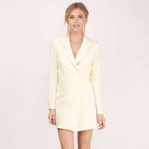 NWT Tobi Backless Suit Trench Mini Wrap Dress
